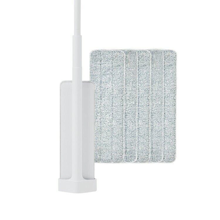 百潔 PERCENT-QUICK MOP_免手洗高效平板拖把+高纖效能替換拖布x5【比漾廣場】