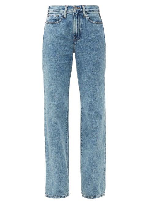Frame - Le Jane Straight-leg Jeans - Womens - Denim