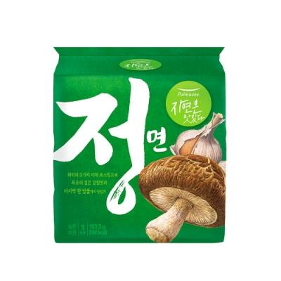 韓味不二【正】圃美多 蔬菜湯麵(102.8g*4包/袋)