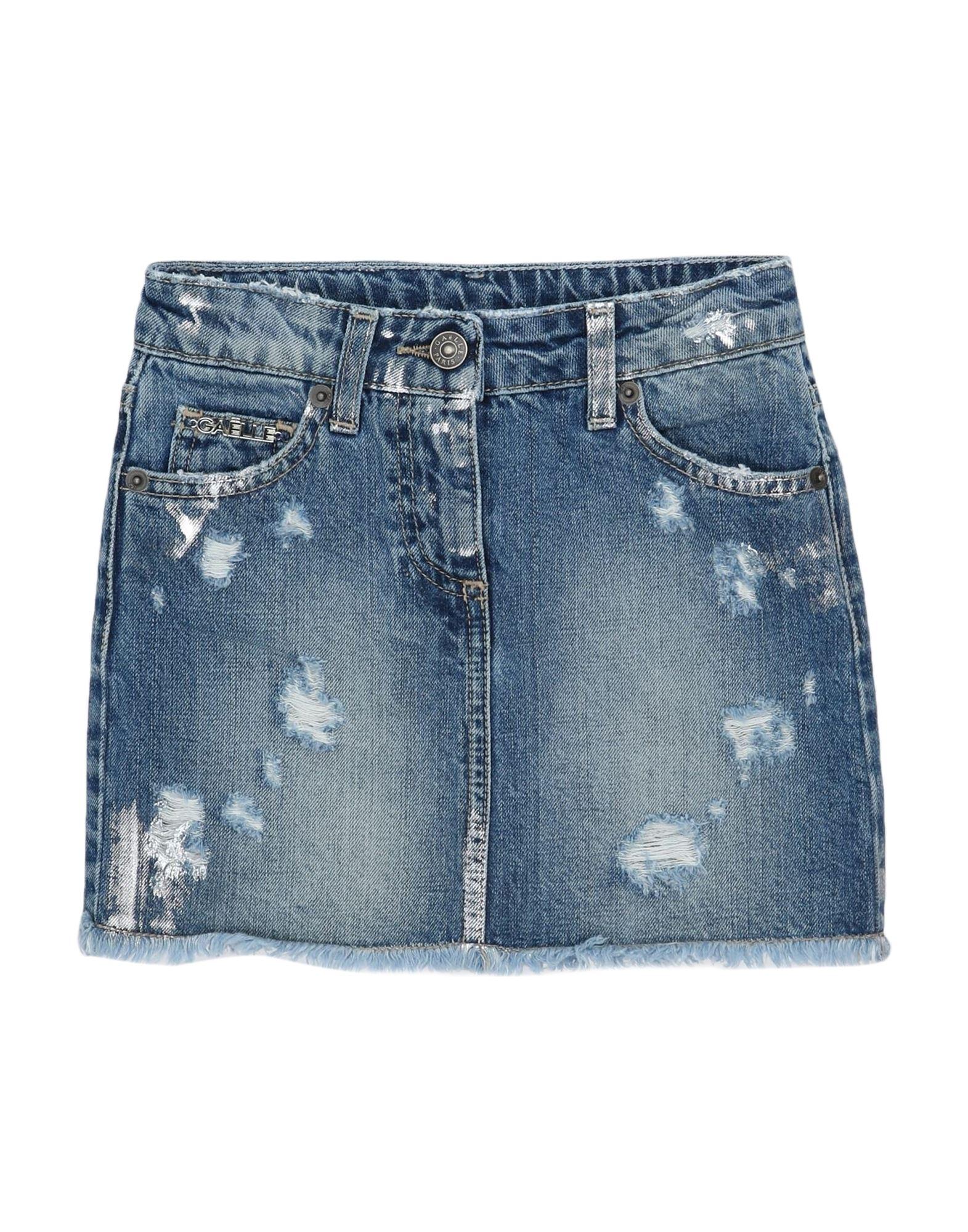 GAëLLE Paris Denim skirts - Item 42827526