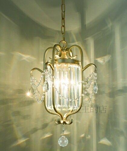 燈飾燈具【燈王的店】典雅系列 水晶吊燈1燈 ☆ 11249/H1