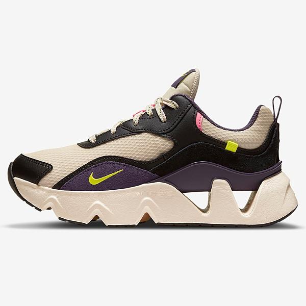 Nike Ryz 365 2 女鞋 休閒 鋸齒 老爹鞋 孫芸芸 增高 厚底 奶茶 紫【運動世界】CU4874-200