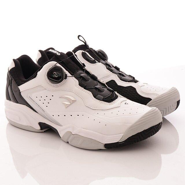 Vitro韓國運動品牌-頂級專業網球鞋-DURNSFORD-WHITE/BLACK(男段)