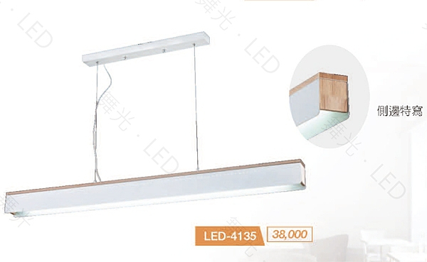 【燈王的店】舞光 LED T8 4尺 x1 日光燈 吊燈 不眩光 LED-4135