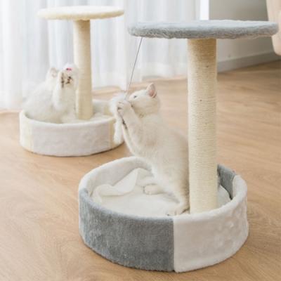 有喵病 臥榻遊憩兩用麻繩貓抓貓跳台