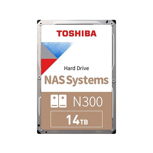 Toshiba【N300 NAS碟】(HDEXW10ZNA51) 14TB /7200轉/256MB/3.5吋/3Y