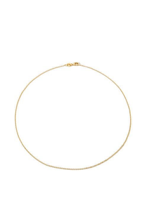Lizzie Mandler - Rolo-chain 18kt Gold Necklace - Womens - Yellow Gold