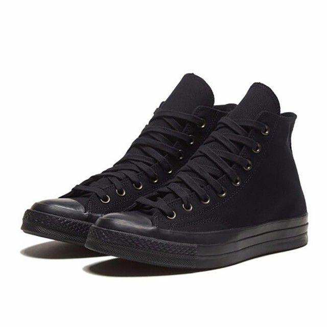 CONVERSE CHUCK 70 HI BLACK/ALMOST BLACK/BLACK 男女 休閒鞋 黑