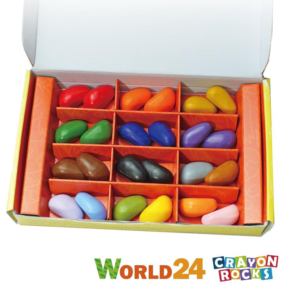 美國 Crayon Rocks 酷蠟石(24色)