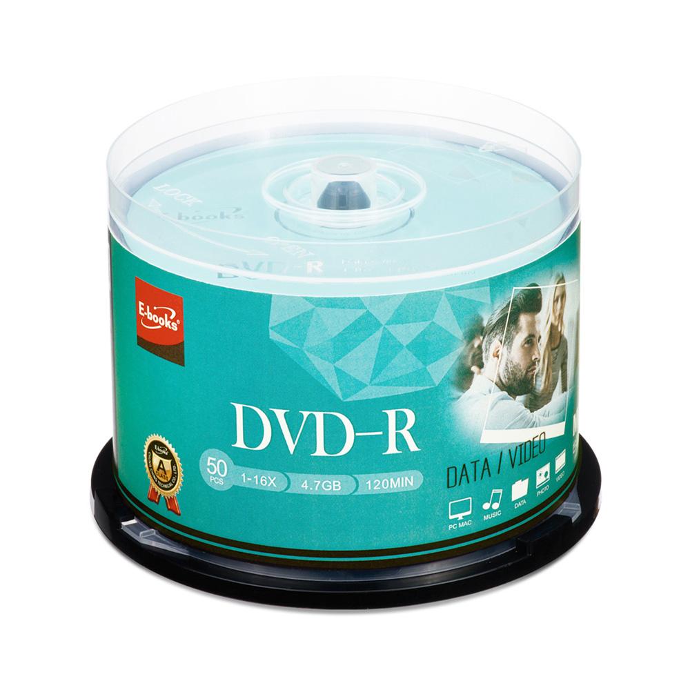 【迎新年↘限時優惠】(2入)晶鑽版 16X DVD-R 50片桶(100片)