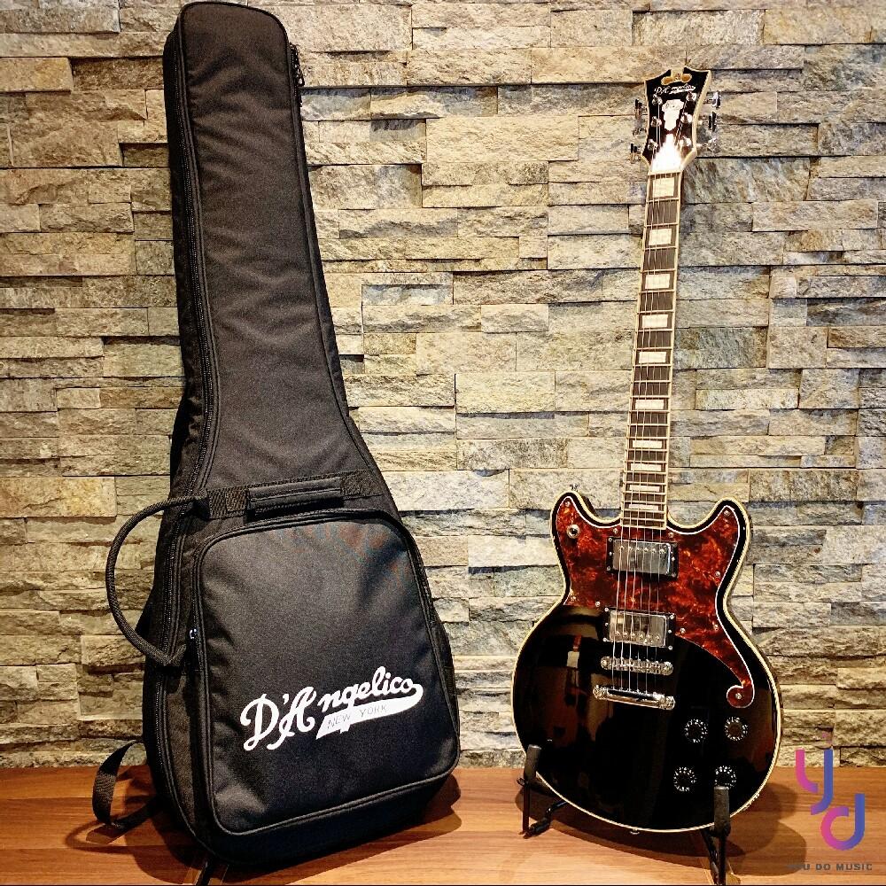 d'angelico premier brighton 黑色 電 吉他 r&b 爵士 搖滾 皆適用