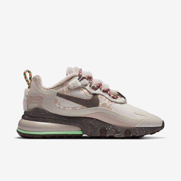 Nike W Air Max 270 React [DC3277-181] 女鞋 運動 休閒 慢跑 籃球 緩震 穿搭 灰