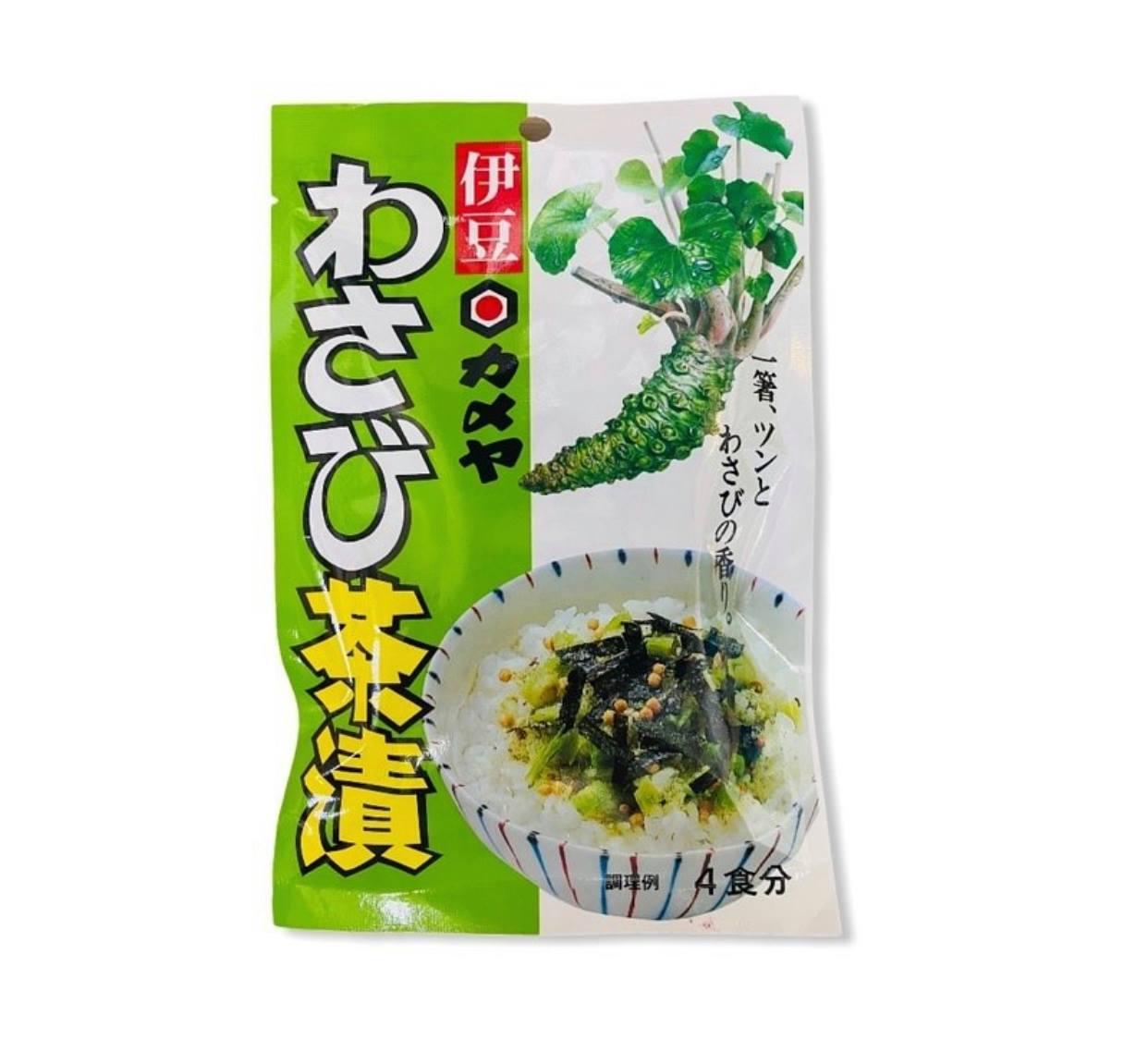 KAMEYA 山葵茶風味茶泡飯 4份入