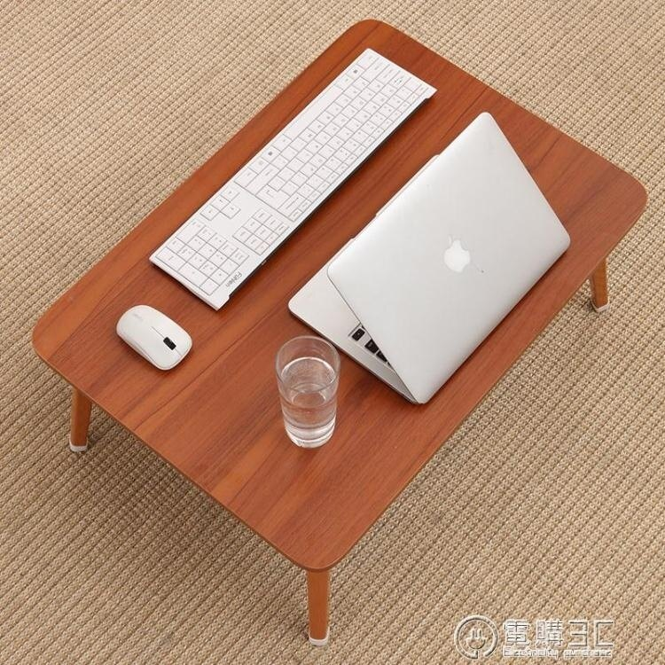 床上小桌子筆記本電腦桌大學生宿舍床上書桌褶疊桌懶人學習桌 七色堇   元旦 交換禮物