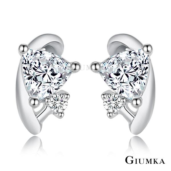 GIUMKA 925純銀 圈住美夢 耳釘耳環 MFS06082