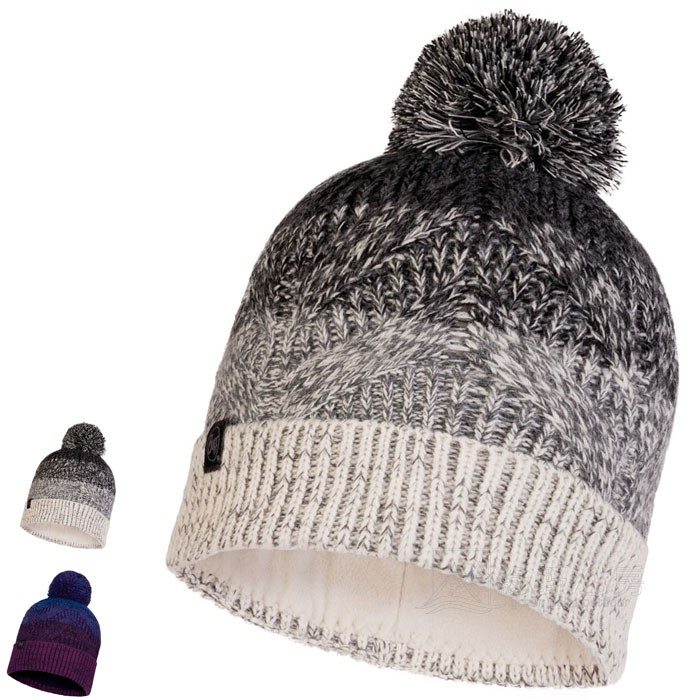 BUFF Lifestyle MASHA 兩色可選 針織保暖毛球帽 刷毛頭帶保暖帽 BFL120855 綠野山房