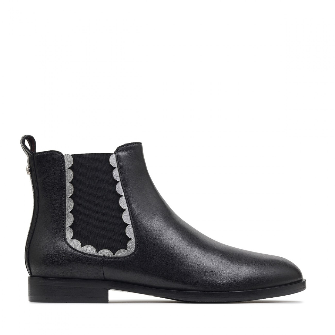 Windermere Scalloped Ankle Boots