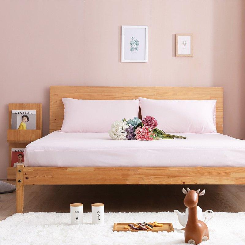 高機能100%防水防蟎床包式保潔墊/枕套 (三色選擇)