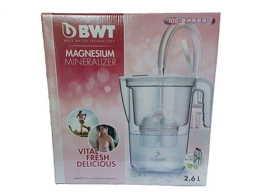 【得意家電】BWT Mg2+鎂離子健康濾水壺 VIDA 2.6L【 尾牙禮品最好選擇】