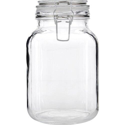 《Premier》扣式玻璃密封罐(2L)