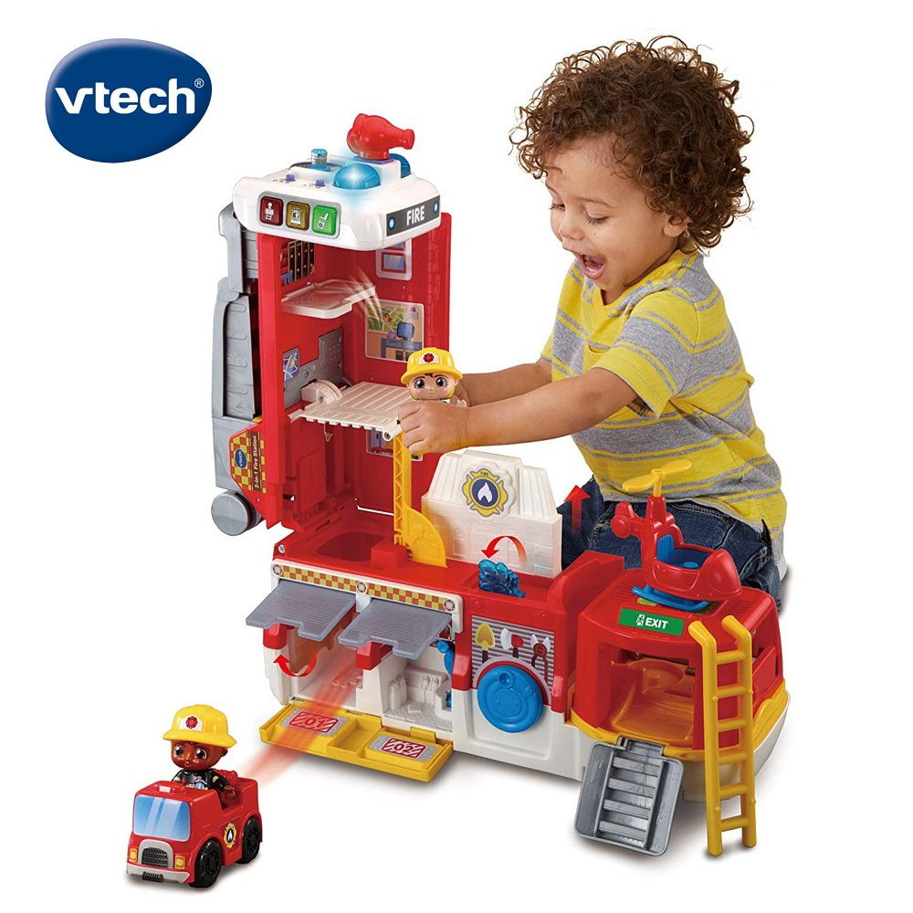 Vtech 2合1消防英雄豪華救援組 / 聖誕節禮物 / 聖誕禮物 /生日禮物/ 兒童節禮物 / 角色扮演