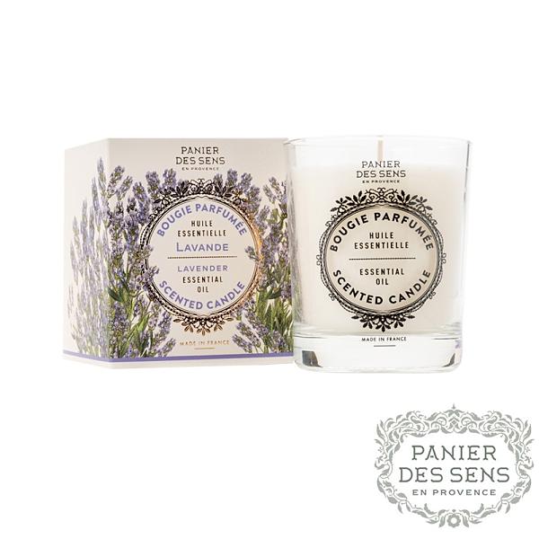 法國 Panier des Sens 舒緩薰衣草 Relaxing Lavender 180g 香氛蠟燭