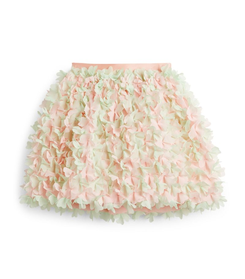 Elie Saab Floral Ruffle Skirt (4-14 Years)