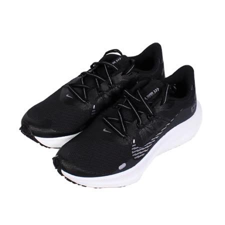 NIKE 女 WMNS NIKE WINFLO 7 SHIELD 防潑水反光慢跑鞋 黑白 - CU3868001