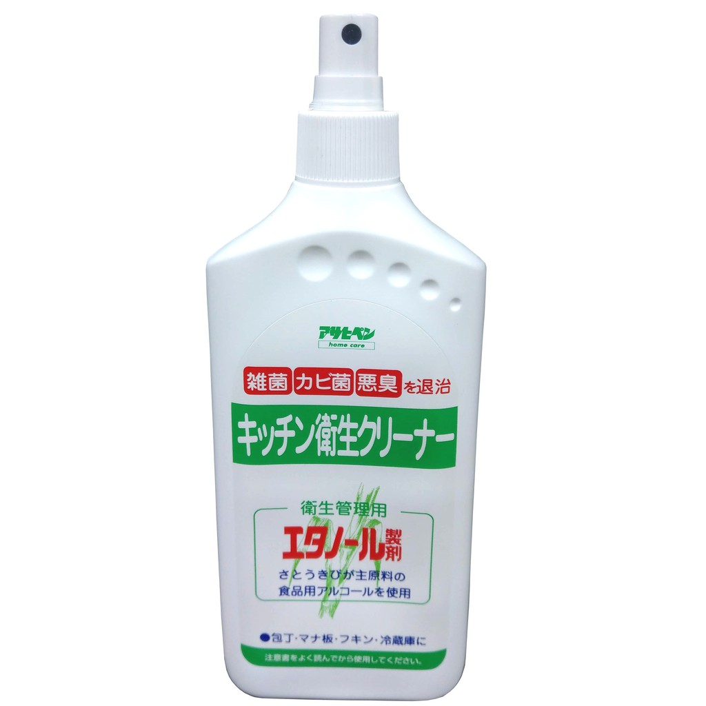 Asahipen微波爐烤箱電冰箱烘碗機鞋櫃滅菌消毒清潔劑300ml-特製噴嘴款 方便使用 不沾手