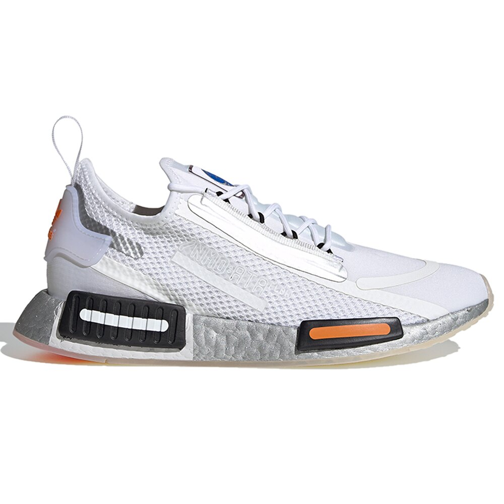 【現貨】ADIDAS NMD_R1 SPECTOO 男鞋 慢跑 休閒 BOOST 襪套 緩衝 白【運動世界】FX6818