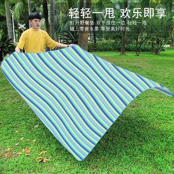 戶外墊子加厚防潮墊野餐墊布沙灘墊便攜地墊野外