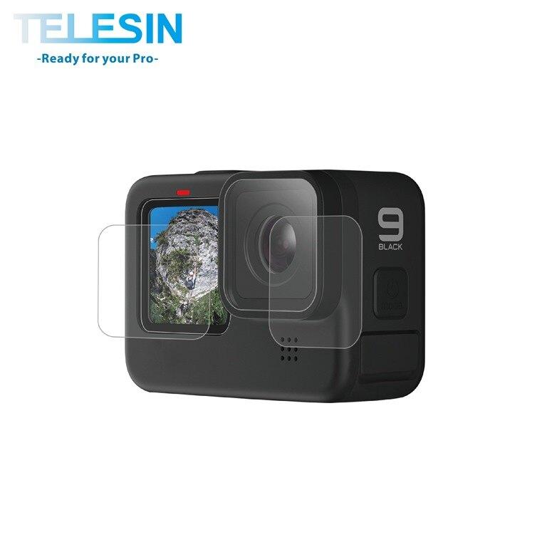 TELESIN HERO9 一般保護貼 (2入)