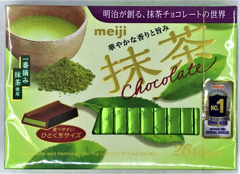 [哈日小丸子]明治抹茶夾餡巧克力(26枚/120g)