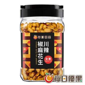 罐裝川辣椒麻花生400G 每日優果