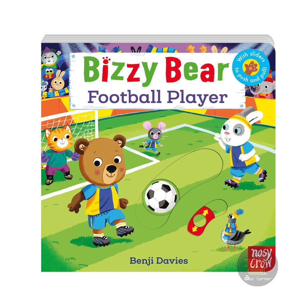【Bizzy Bear Football Player】附導讀QR Code新版 原裝正版現貨