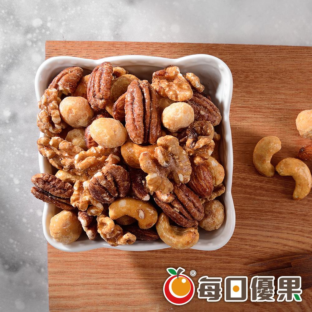 蜜汁綜合堅果大包裝580G 每日優果