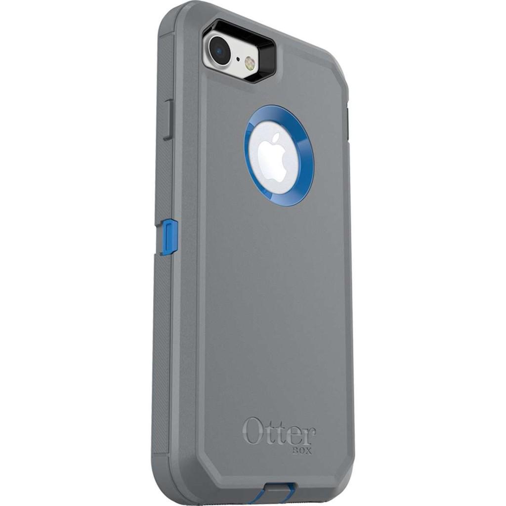 OtterBox iPhone 8Plus & iPhone 7Plus Defender 防御者手機殼灰藍色
