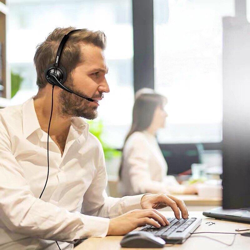 1150元 雙耳電話耳機麥克風推薦 Headset  AVAYA 1616辦公室電話耳機 電話耳機推薦 電話免持聽筒耳機
