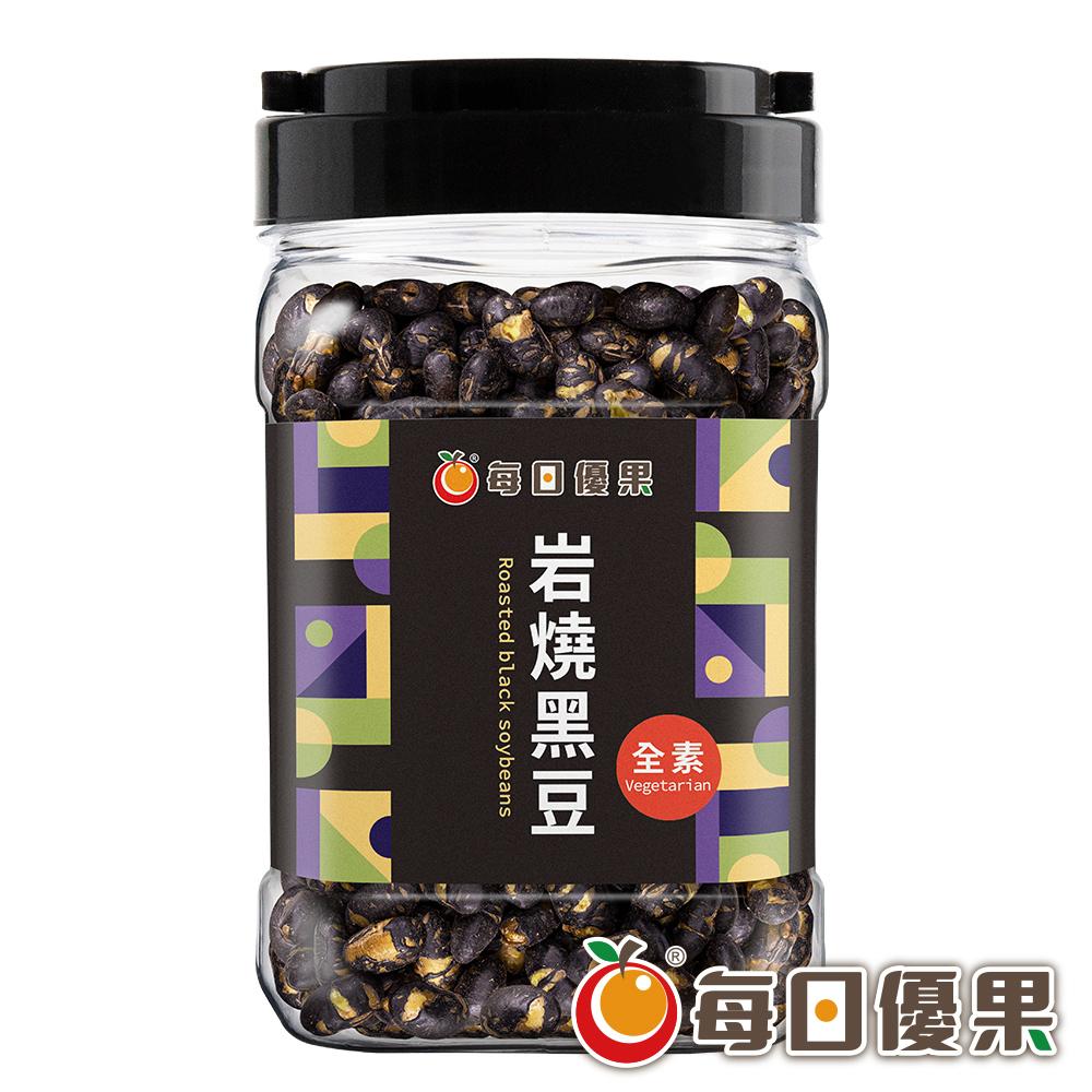 罐裝岩燒黑豆320G 每日優果