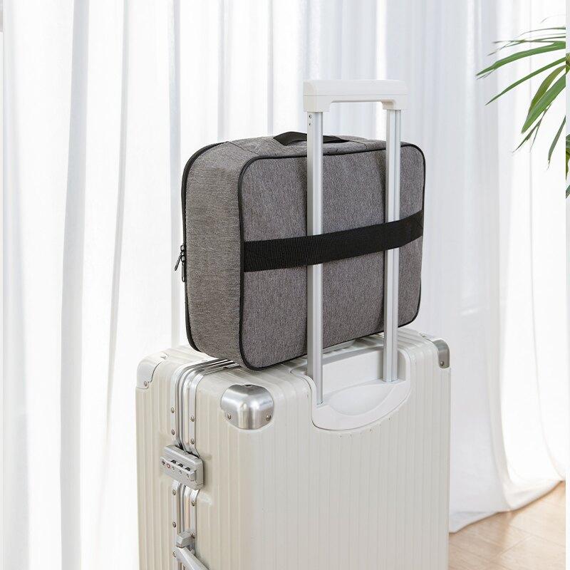 證件收納包 家用多功能箱多層戶口本證書文件護照卡包大容量整理袋【xy4398】
