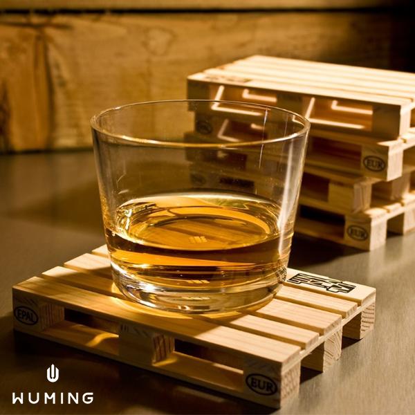 棧板造型木質杯墊 『無名』 Q06104