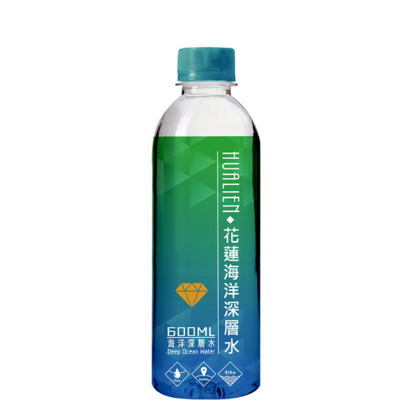 花蓮七星潭海洋深層水 600ml x 24瓶 免運費 礦泉水 瓶裝水 海洋離子水 光隆生技 折價券