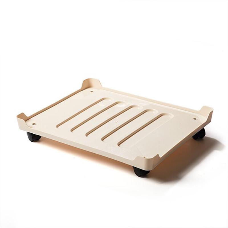 66L/80L可用 鋼架收納箱專用托盤(附輪子)