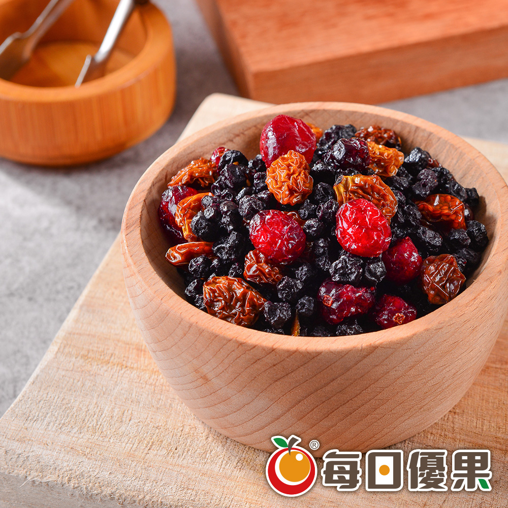 綜合莓果乾150G 每日優果
