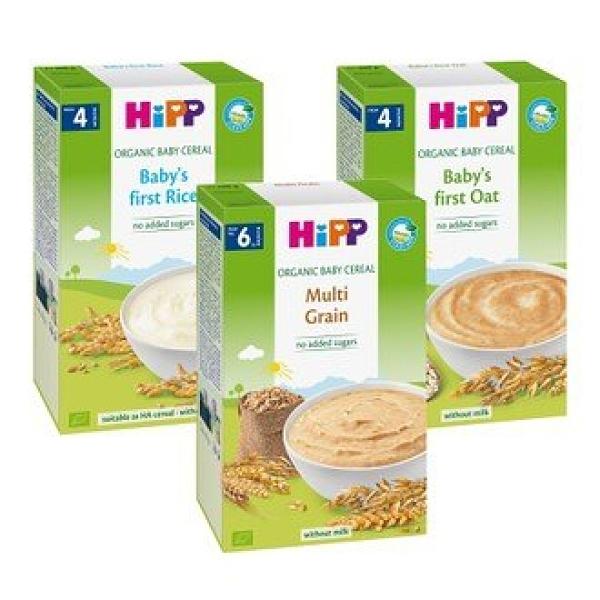 HiPP喜寶生機黃金穀物精/米精/燕麥精 200g
