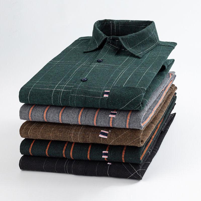 【韓國襯衫】潮流加大碼時尚百搭休閒襯衫 五色可選