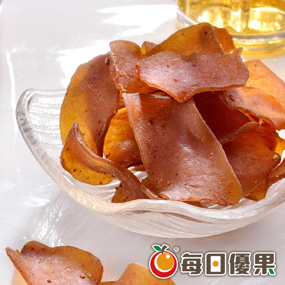 高纖辣味蒟蒻薄片180G 每日優果