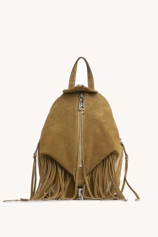 Convertible Mini Julian Backpack With Fringe