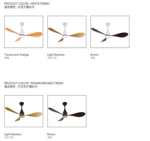 【燈王的店】《芬朵精品吊扇》52吋DC吊扇+LED 11W燈具+遙控器 船槳系列 52PAGAIA 送基本安裝