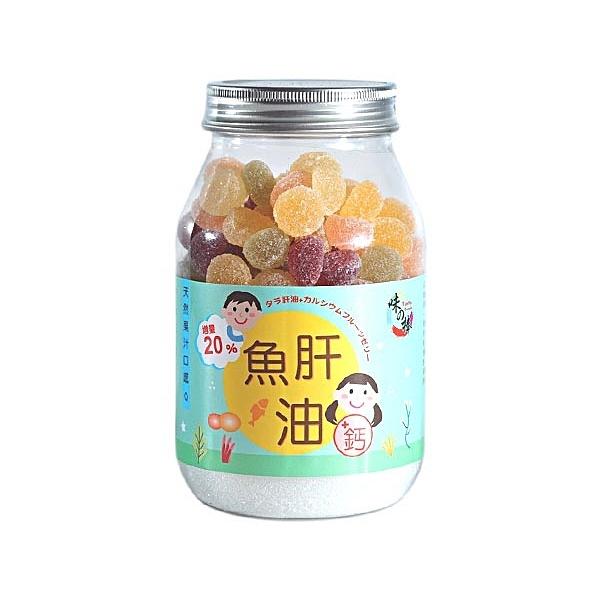 味之棒 水果軟糖(魚肝油+鈣)275g【小三美日】